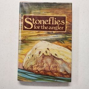 SIGNED Stoneflies For The Angler VTG book